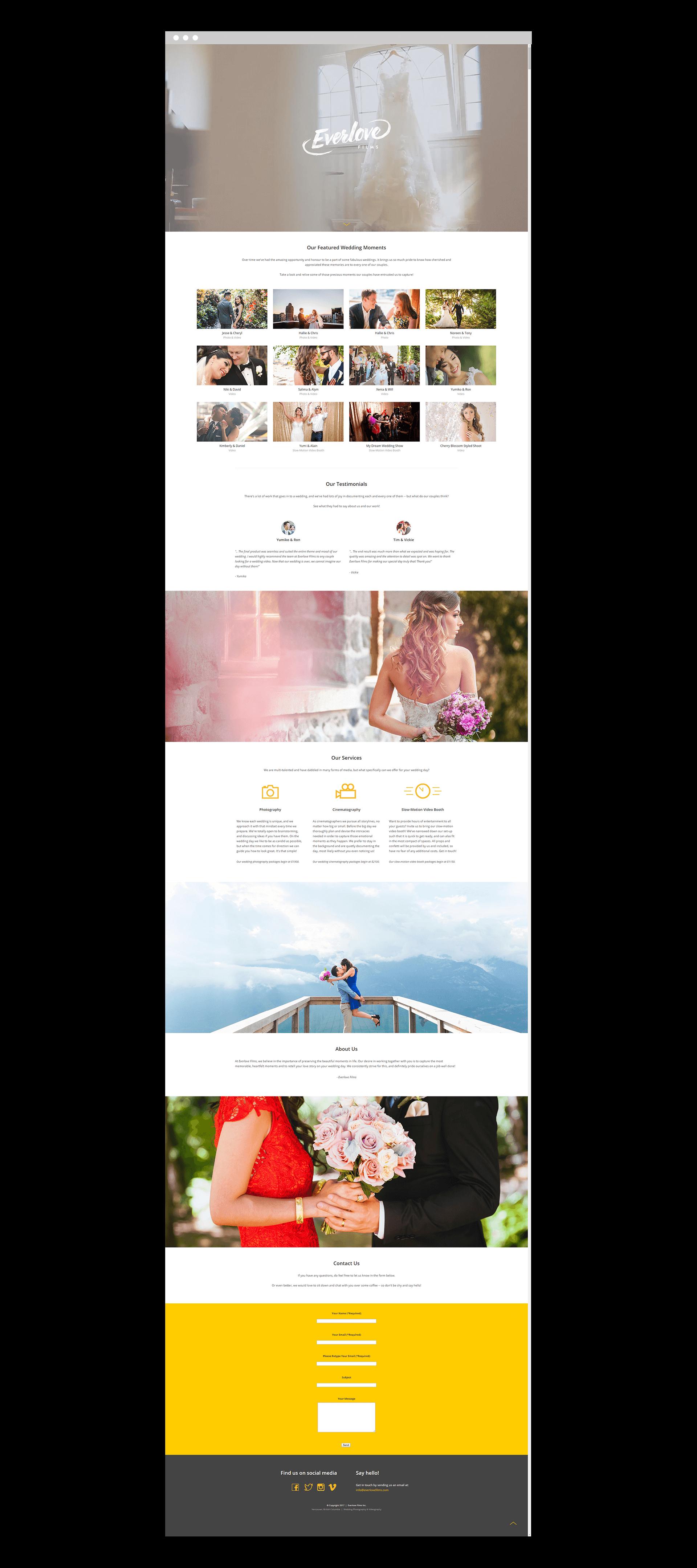 EverloveFilms-Website